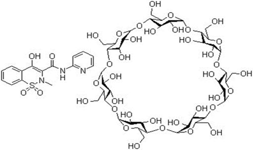 PIROXICAM BETA CYCLODEXTRIN